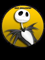 Jack Skellington Pin by BrittanysDesigns