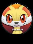 Fennekin Pin