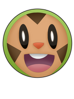 Chespin Pin by BrittanysDesigns