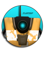 Claptrap Pin by BrittanysDesigns