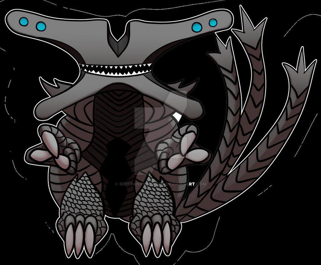 chibi kaiju slattern by brittanysdesigns on deviantart