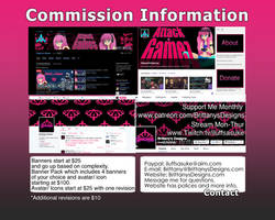 Banner Commission Info