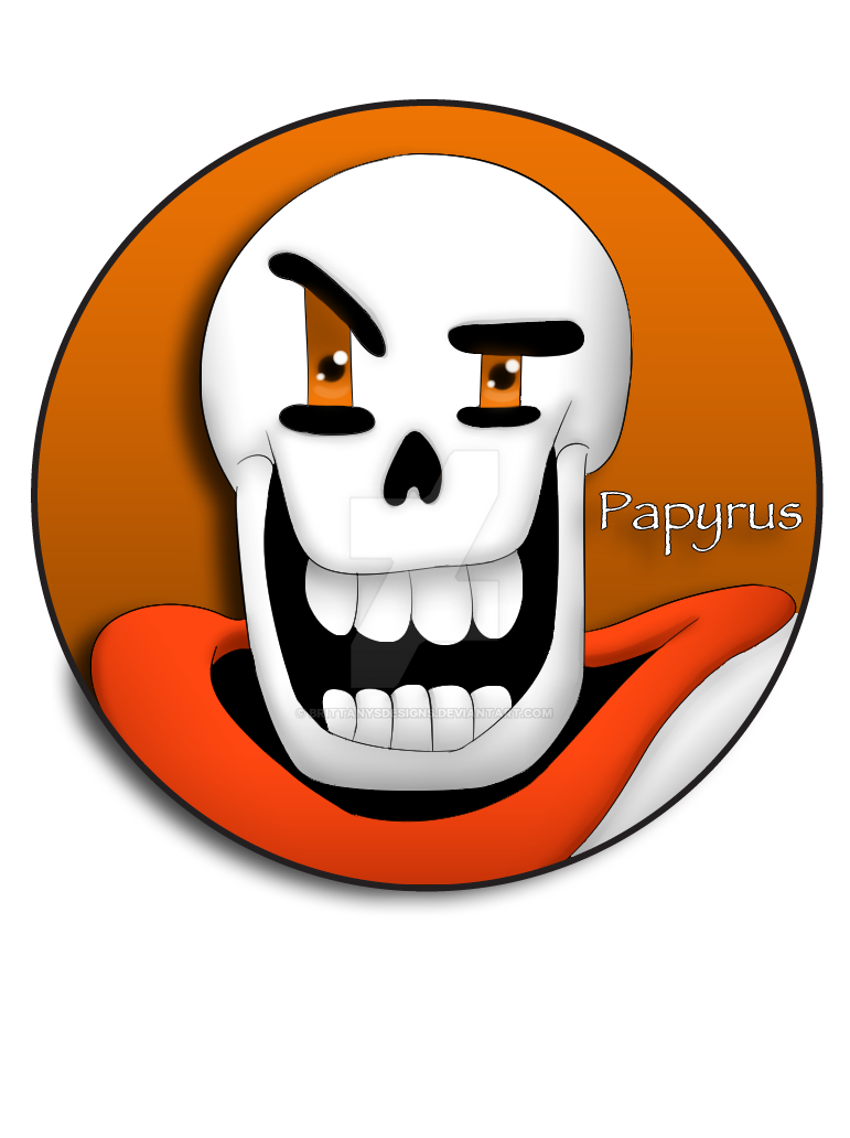 Papyrus Pin by BrittanysDesigns