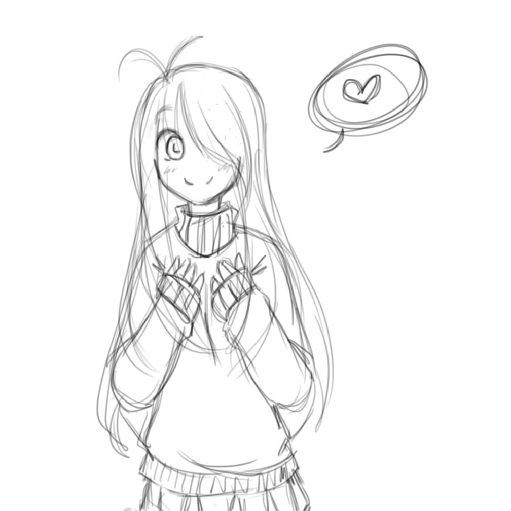 Mimi's Sweater Is Too Big. . . By MiyuiiTerritori On