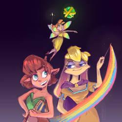 Elora, Bianca and Zoe - Reignited by zaephiir