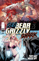 Sea Bear and Grizzly Shark 01 by fco