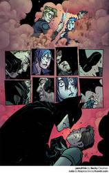 batman12 pg14 COLOR by fco plascencia by fco