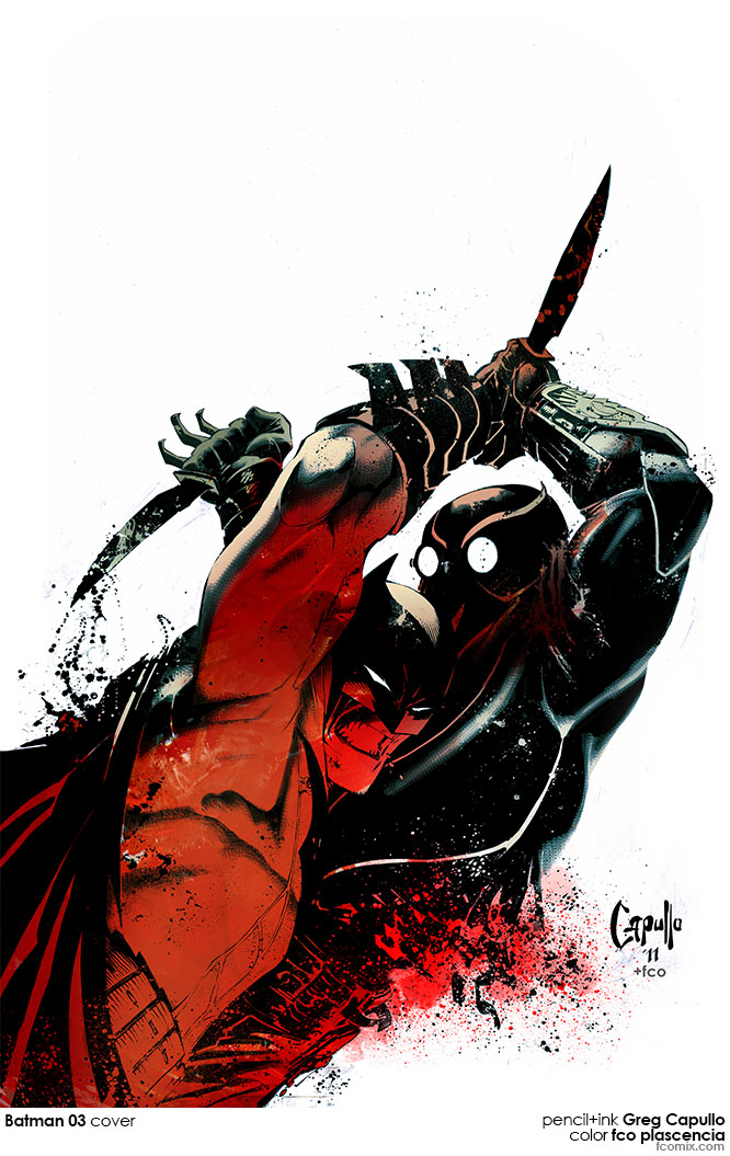 batman03 COVER COLORby fco plascencia by fco