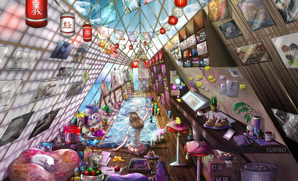 MY Dream Art ROOM by Yuriko-Kawasaki