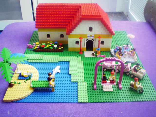 how to build a lego house for beginners