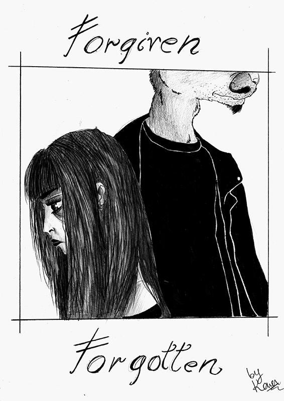 Forgiven / Forgotten - cover by Saffella