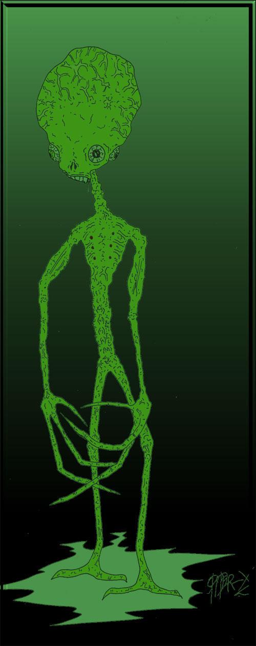 Alien-X by Spider-X