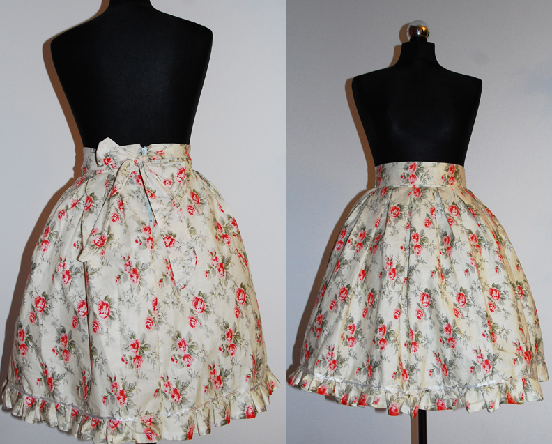 Sweet Country lolita skirt by EvilYuki
