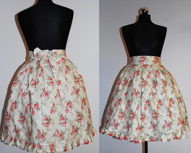 Sweet Country lolita skirt by EvilYuki