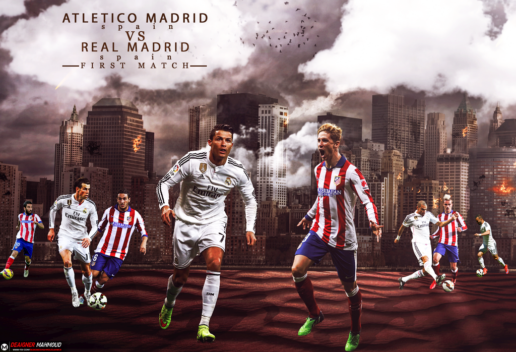 Wallpaper real madrid vs atletico madrid by mahmoddesigner on deviantart wallpaper real madrid vs atletico madrid by mahmoddesigner voltagebd Image collections