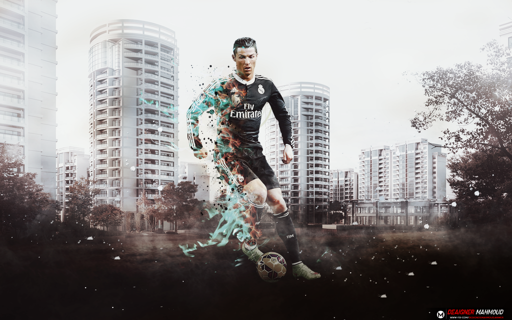 Cr7 Wallpaper Hd Free Download SubWallpaper With Fire By Mahmoddesigner