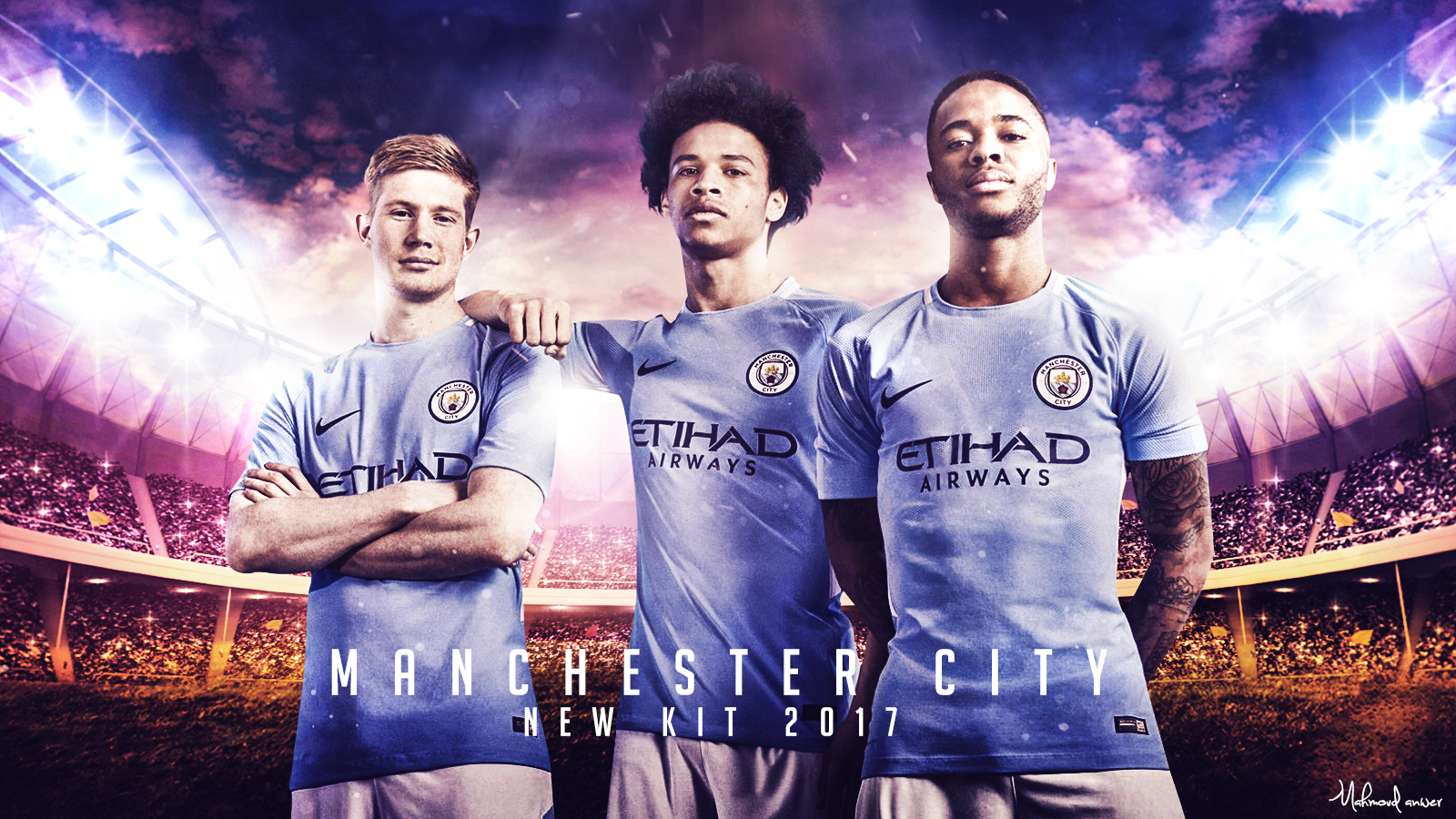 Manchester City 2017 Wallpaper By Mahmoddesigner On Deviantart