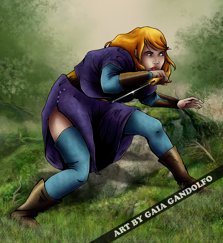 Lady Assassin by gg-al