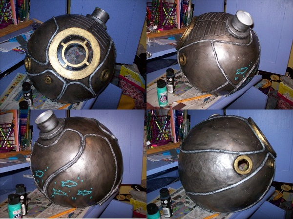Big Sister - BioShock 2 - Helmet and Tutorial! by shmad380