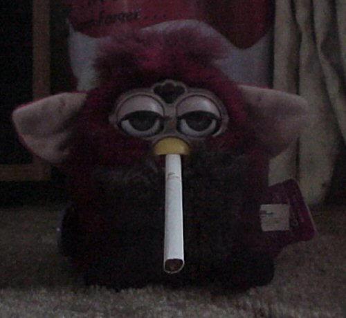 Smoking Furby 1 by Milanity
