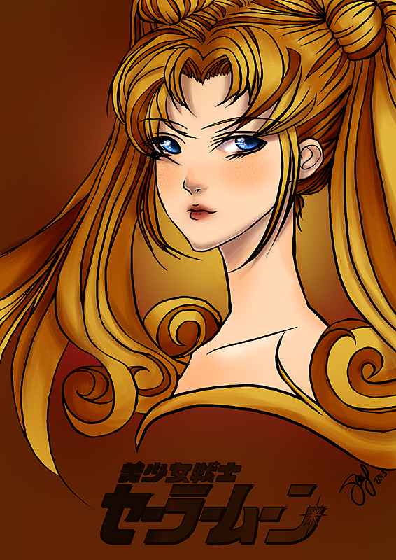 Sailor Moon! by sayomgwtf