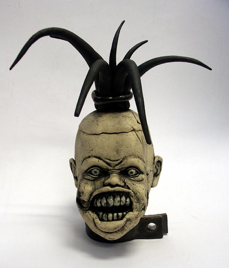 Creepy doll head by CreativelyStrange