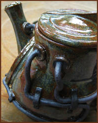 Industrial Teapot (detail)