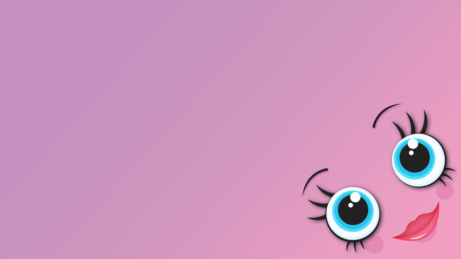 Wallpaper pretty pink monster by g lulu on deviantart for Pretty wallpaper for walls