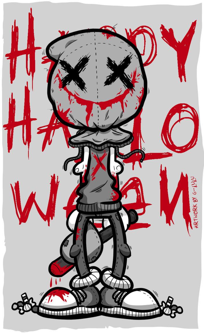 Happy bloody Halloween by G-Lulu