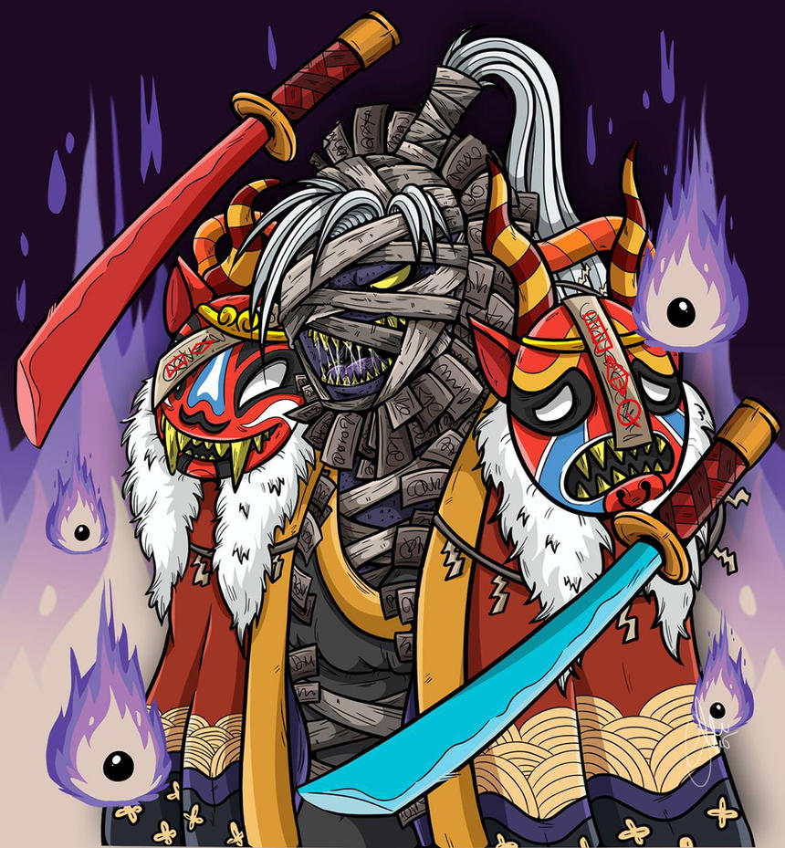 Moldergeist - Battle Camp by G-Lulu