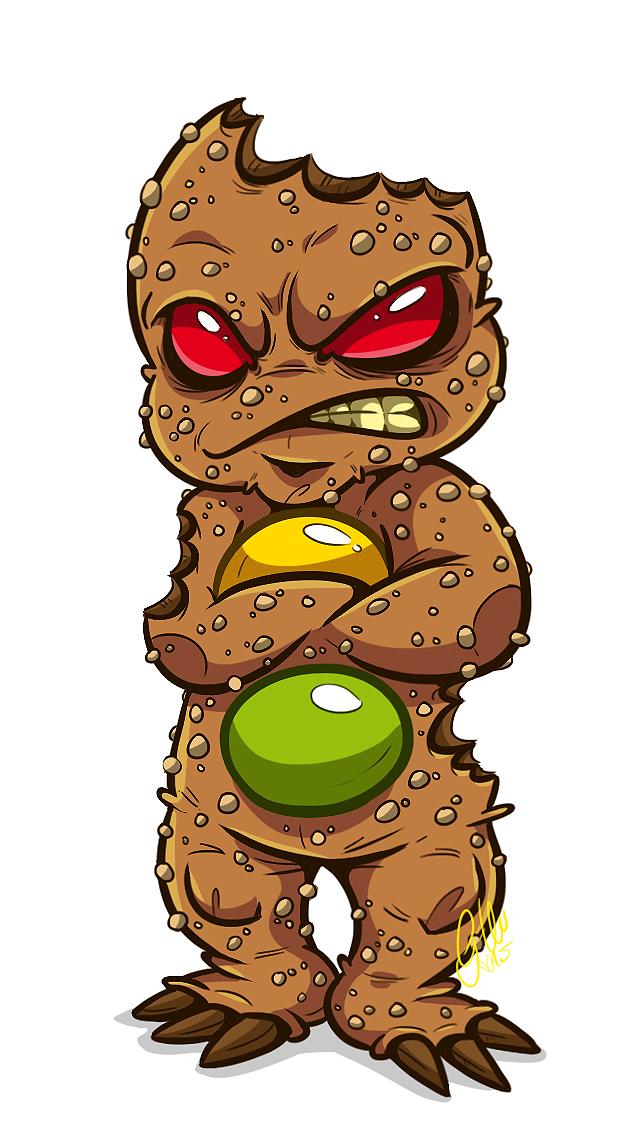 Grumpy Ginger by G-Lulu