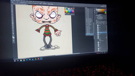 Freddy Krueger Artwork- W.I.P
