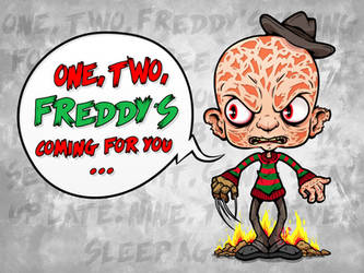 Freddy Krueger - Toon by G-Lulu