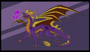 Adult Spyro Commission for CyberDesro3300