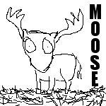 Moose Moose Moose by leafeh22