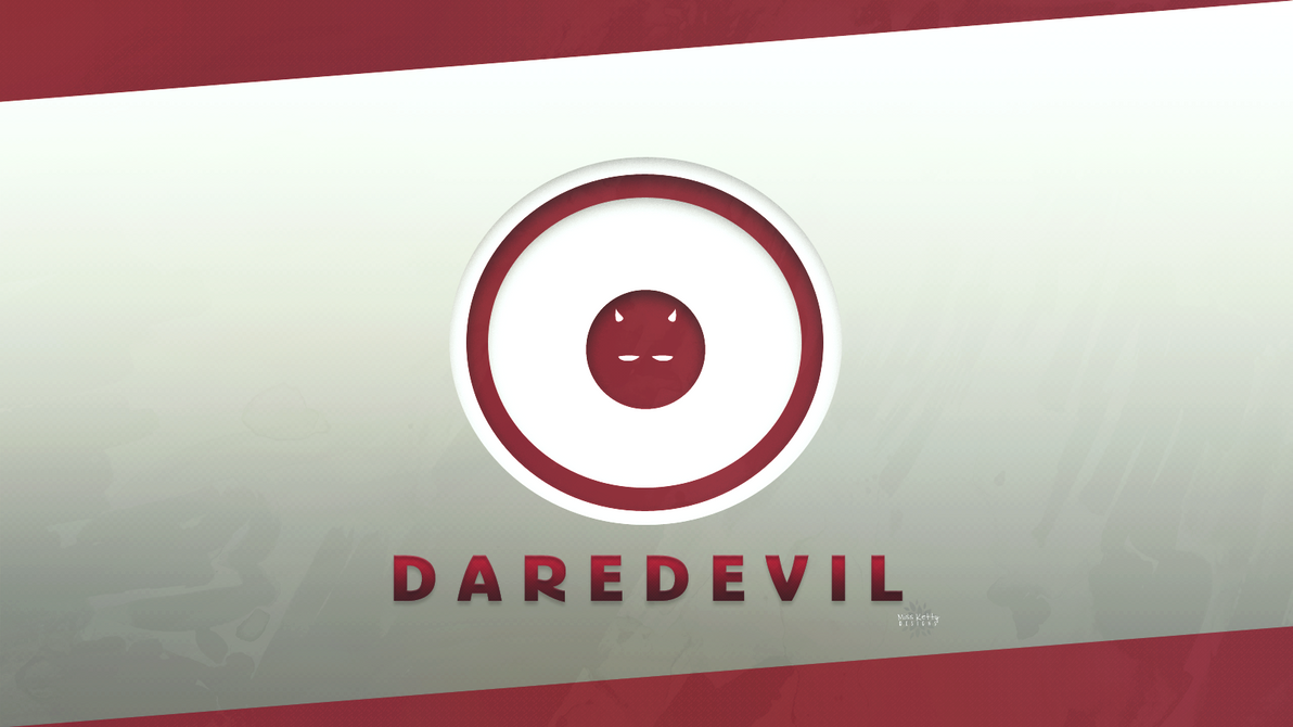 Wallpaper Logo Daredevil 1 By MissKettyDesigns