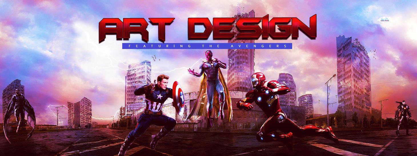 Header Mise En Scene Avengers 1 by MissKettyDesigns