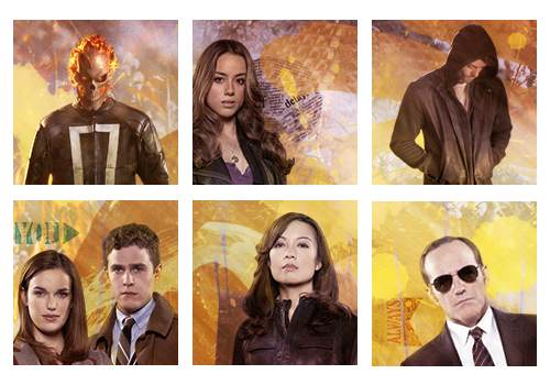 Planche Icon Marvel's Agents Of SHIELD 1 by MissKettyDesigns