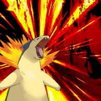 Typhlosion icon by infersaime