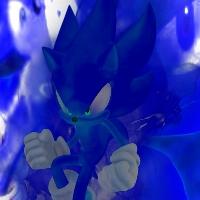 Dark Super Sonic Icon by infersaime