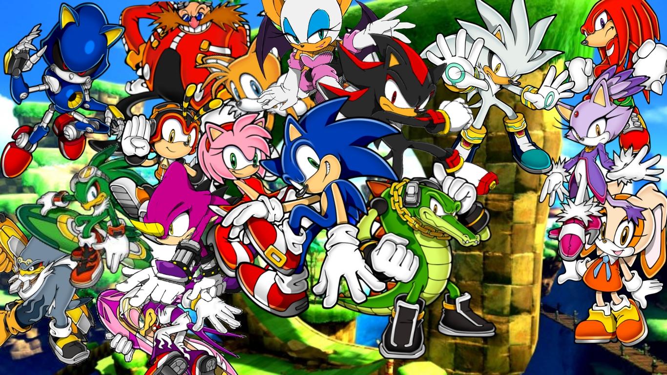 Sonic The Hedgehog Serie Background By Infersaime On Deviantart