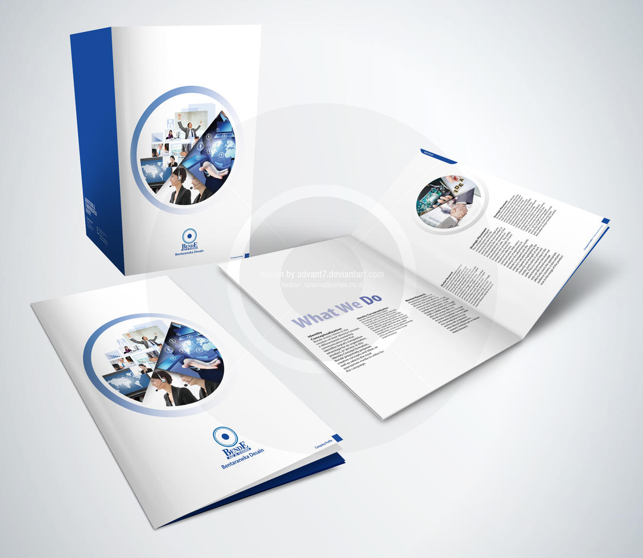 40 best company profile design inspiration for saudi for 2 by 4 design