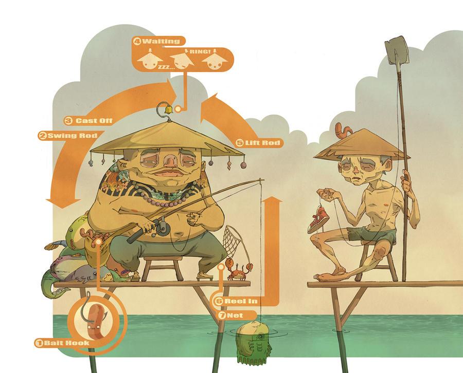 Successful Fisherman by raps0n