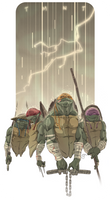 tmnt: cold pizza by raps0n