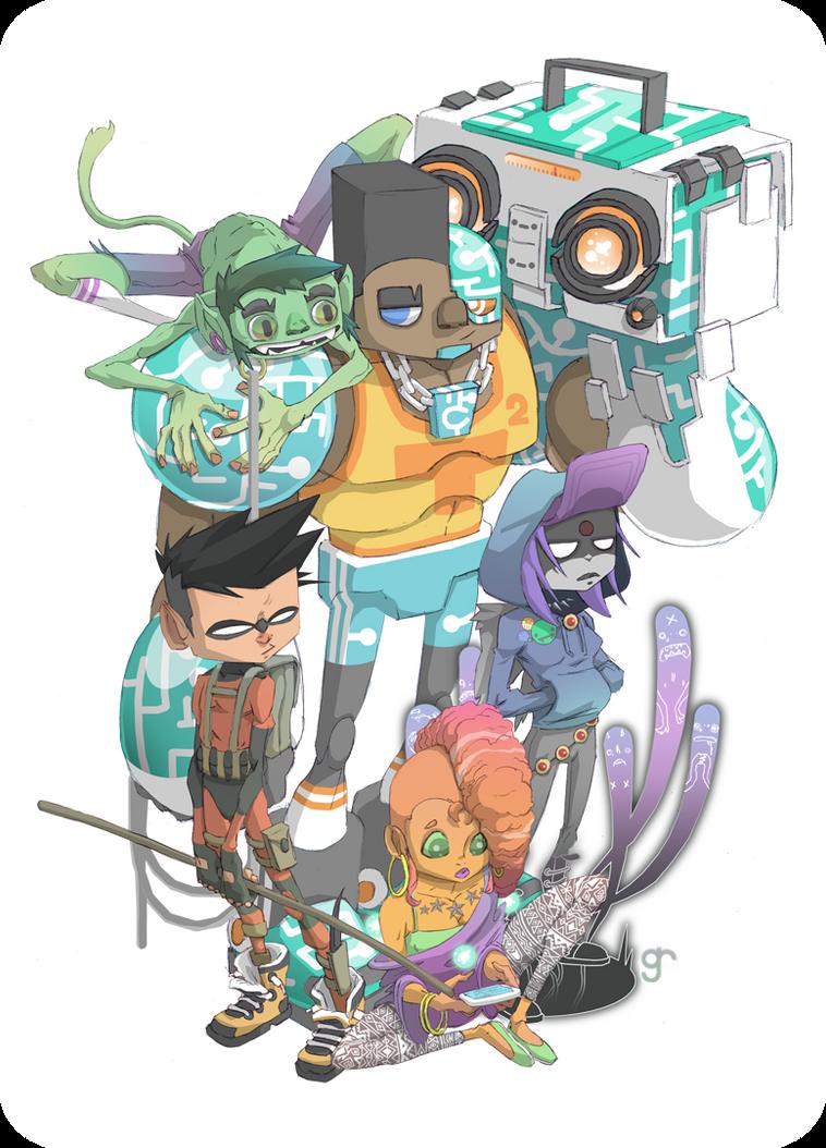 Teen Titans Deviant Art 4