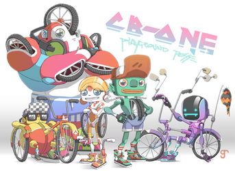 cb-one and  the playgound posse by raps0n