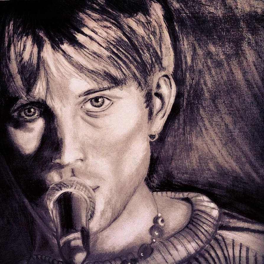 Damon Albarn (young) by AmbersArts