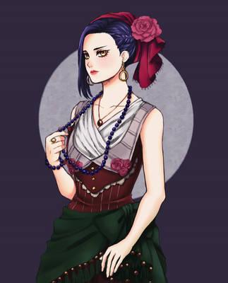 Commission: Aisha by kakikuri1