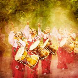 Korean musicians by hibiscusbloom