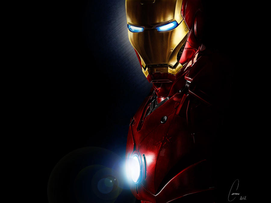 Iron Man: Re-drawn by ArtWarrior25